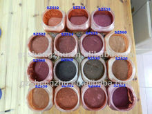 Inorganic mica luster pearl pigment powder of cosmetic and eye shadow
