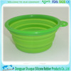 without metal pet dog or cat Silicone bowl for 2015