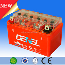 China Brand Famous GEL Battery 12 Volt 7ah MG9A For Street Bike Motorcycle