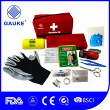 Emergency Road Hazard Roadside Car Kit With Flashlight