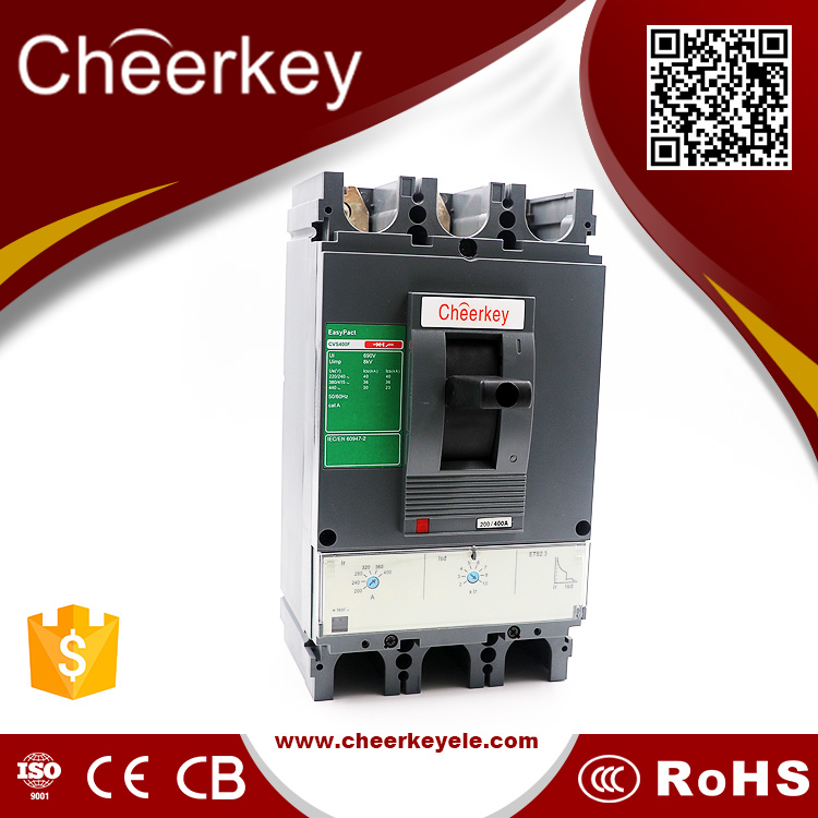 new product CVS 400a 3 phase moulded case circuit breaker switches