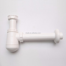 Korea pvc bottle trap for wash basin with QILI