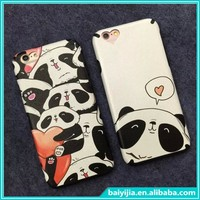 China supplier mobile phone accessory for iphone 6 cute cartoon TPU case for iPhone 6 plus