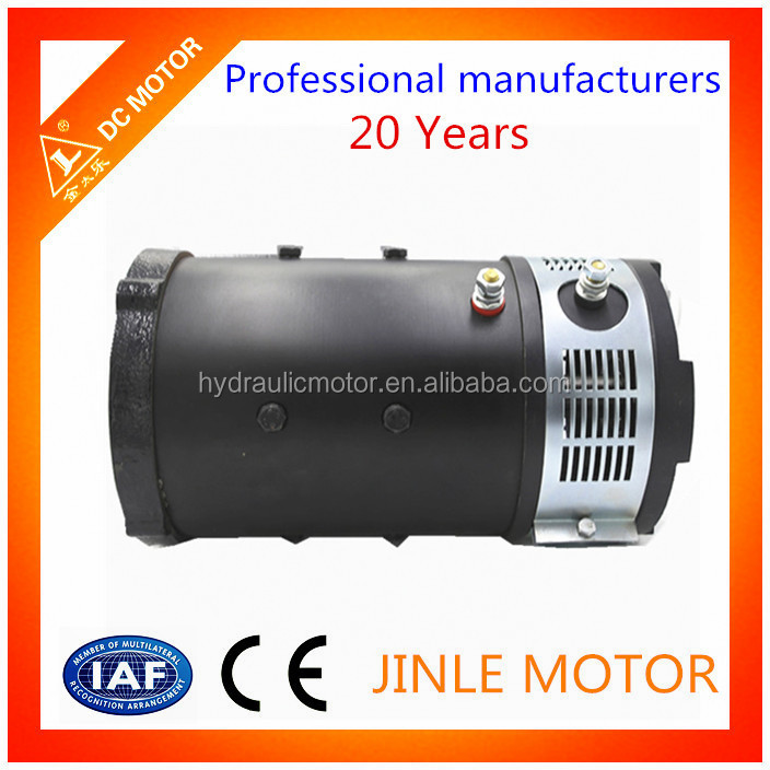 Electric car dc motor 4kw