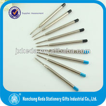 2014 Promotion Metal parker type ball pen refill