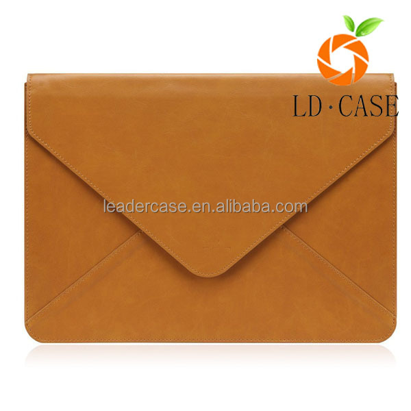 business style Laptop Leather Sleeve Carry Case Cover For Apple For Macbook Air laptop