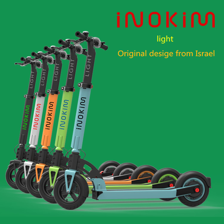integral LED lights Light Weight Top brand INOKIM foldable Wholesale 500w electric scooter