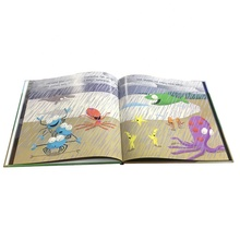 Experienced hardcover story picture child kid <strong>book</strong> with spot UV printing