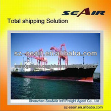 International sea freight to Chile,Valparaiso,Arica from China