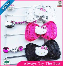Fashion Metal hello kitty hair accessories