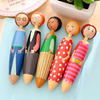 Lovely Doll ballpoint pens for writing Canetas escolar Cute Stationery Office material school supplies papeleria