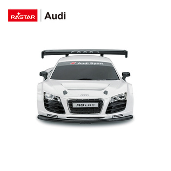 1:24 big scale AUDI authorize Rastar remote control toy car model for big kids