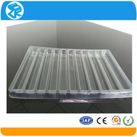 frozen food meat plastic moving tray packaging