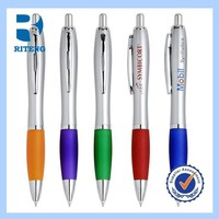 high quality cheap price logo plastic promotional pen