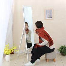 Hot sale fresh dressing mirror simple vertical whole-body fitting mirror wooden latest pier glass