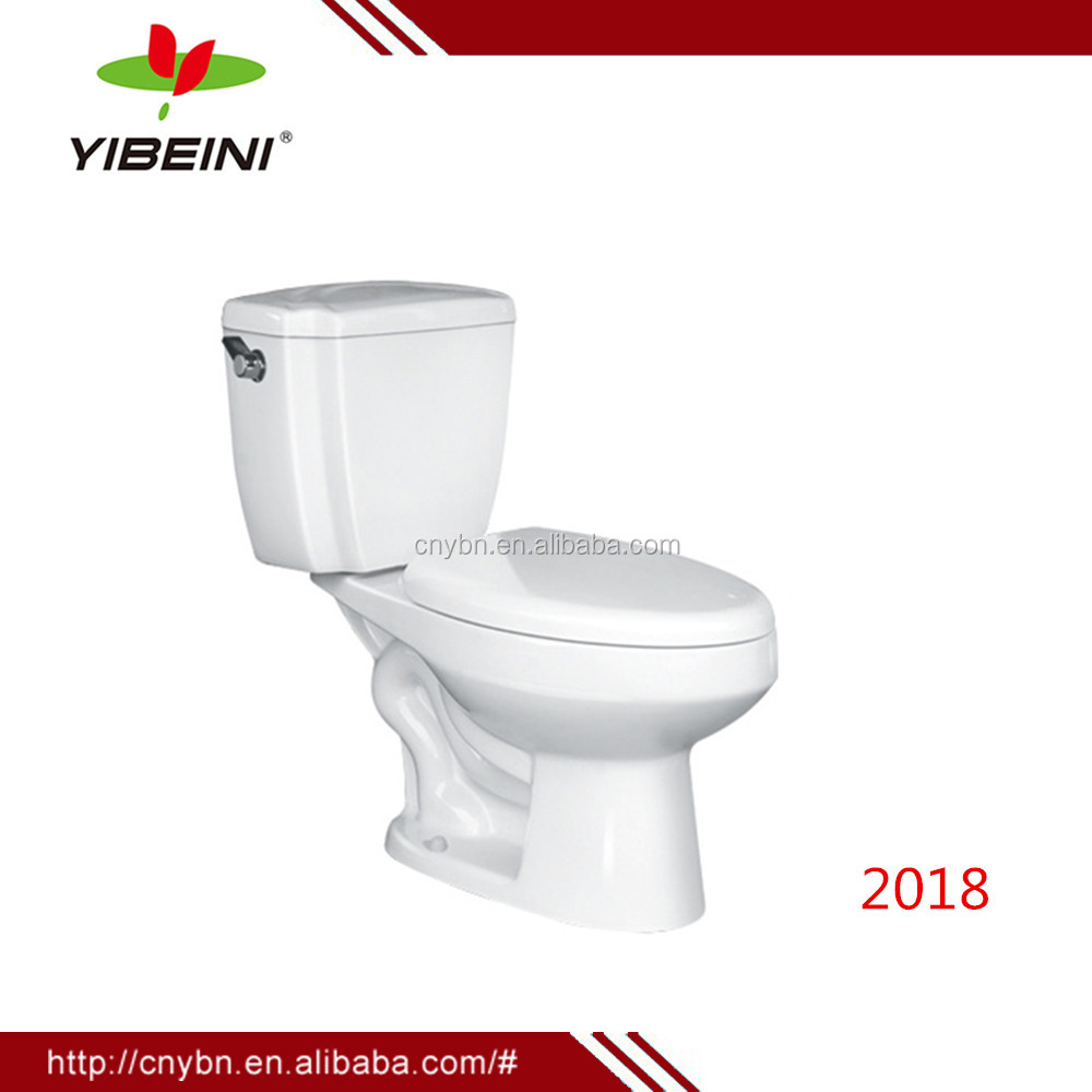 Bathroom two-piece washdown wc toilet seat/Floor mounted Two pieces toilet