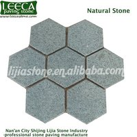 Granite Hexagon stone pavers