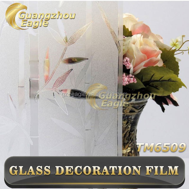 Good Quality 3D/Printed /Embossed/Frosted/Static Cling Patterned Frosted Smart Korea Window Film