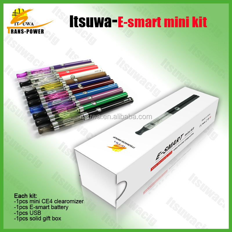 High quality electronic smoking vapor cigarette 380mah e smart