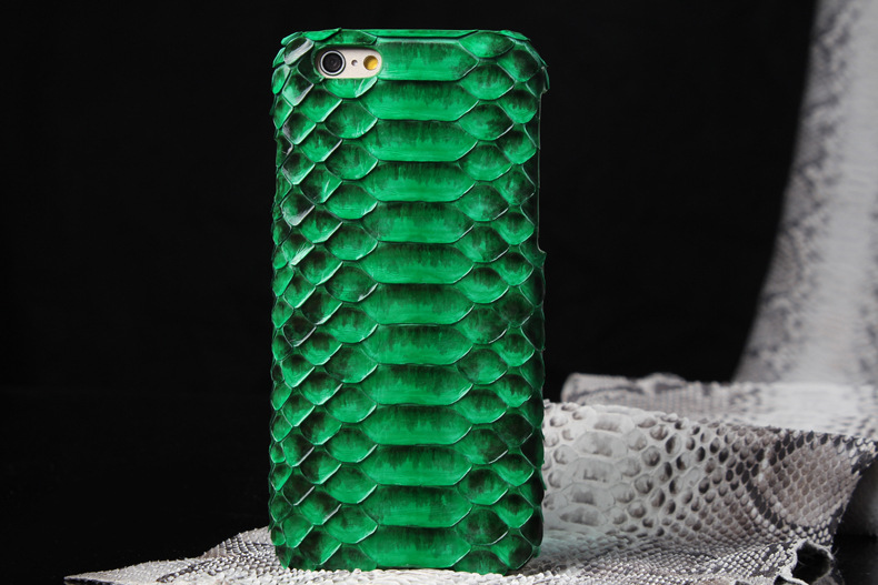 Genuine Real Leather Snake skin Case Cover For Apple iPhone 6 / iPhone 6 Plus