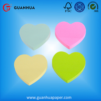 Top quality heart shape sticky note in malaysia