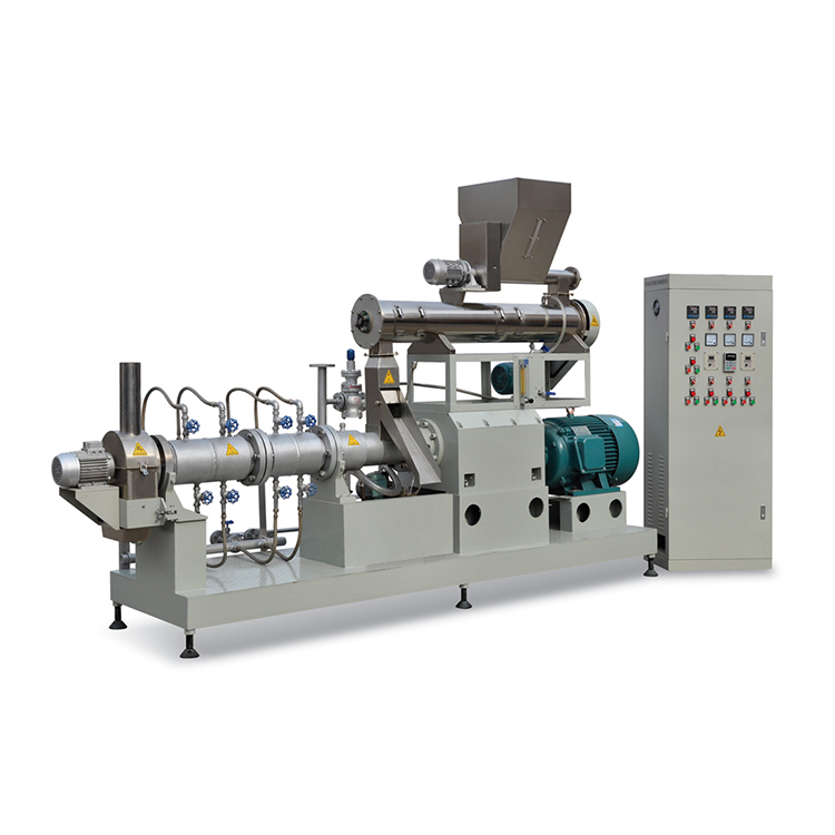 CE certificate making floating fish food machine processing line