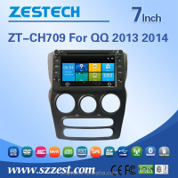 Professional car dvd supplier multimedia navigation system for CHERY NEW QQ 2013 2014