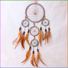 Cheap Fashion Indian Dream Catcher Craft Feather Decoration Supplies