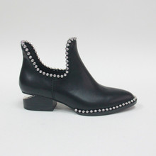 Special Style Shoes Women High Heel Ladies Heel Footwear Leather Boot Shoes