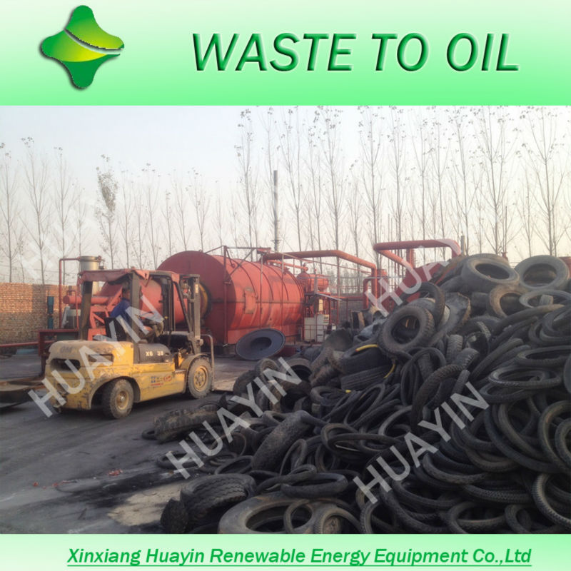 The latest high profit crude oil from waste tyre/plastic/oil