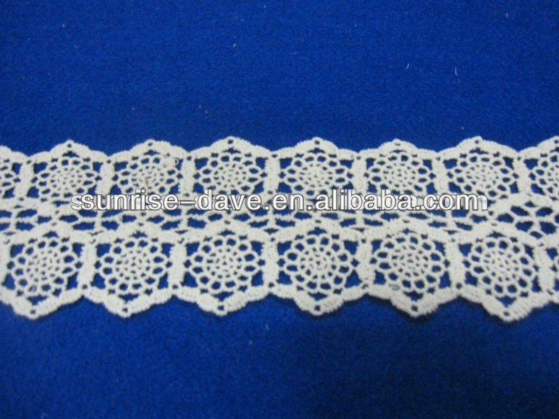 Machine made tim lace