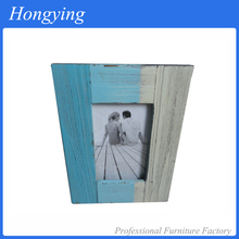 Hotel decorative antique pine wood picture frame Chinese shop