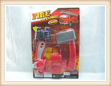 kids plastic mini axe saw Fire protection tools toy