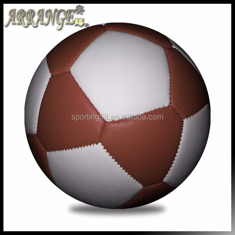Small Soccer Ball size three ACFB0098P3300 brown2 Light Soft Foam football