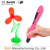 2017 itenns VP02 3d pen stimulate children's creativity drawing pen 3d with 4colors PCL filament