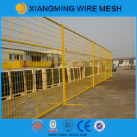 Galvanized US type and Canada standard powder coating Temporary fence / removable portable metal fencing
