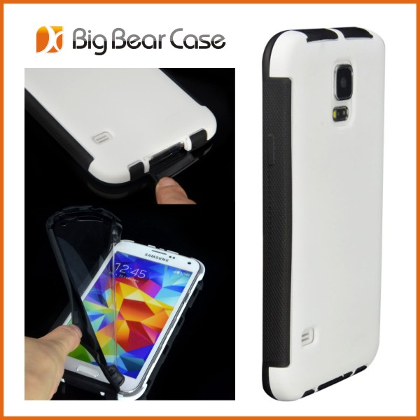 Hybrid cell cover handphone hard case for samsung galaxy s5