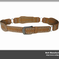Fancy Design Ladies Rivets Belt With