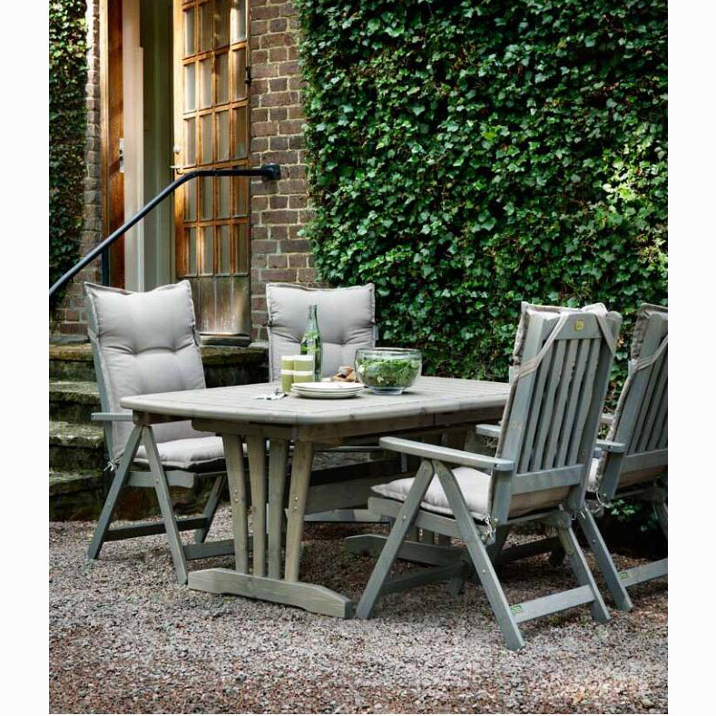 Fashion aluminium alloy outdoor garden furniture plastic wood outdoor long wood benches