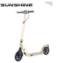 Wholesale custom mini kick scooters for adults big wheels