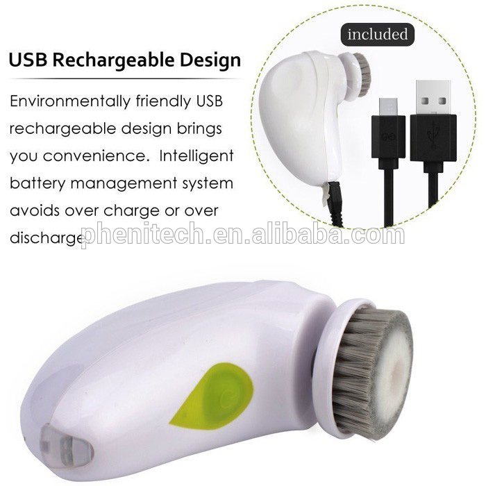 Cheap Professiona USB portable electric facial cleansing brush massager facial kit high frequency facial machine