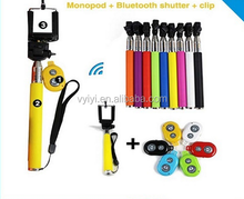 (Hot) Z07-1 Bluetooth Selfie Stick with Remote Shutter, Wireless Bluetooth Monopod Z07-1, Bluetooth Selfie Monopod Z07-1