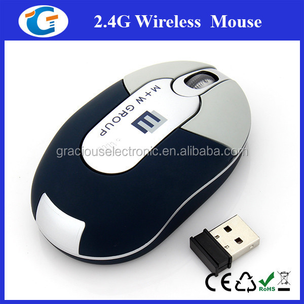 Mini Rf Wireless Optical Mouse With Mini USB Receiver Branded