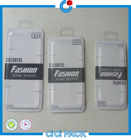 Transparent Plastic Packaging Phone Case, Blister Card Phone Case Box, Box Packing for Smart Phone Case