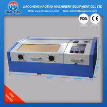 manufacture laser engraving and cutting machine for acrylic wood bamboo glass double-colour board rubber