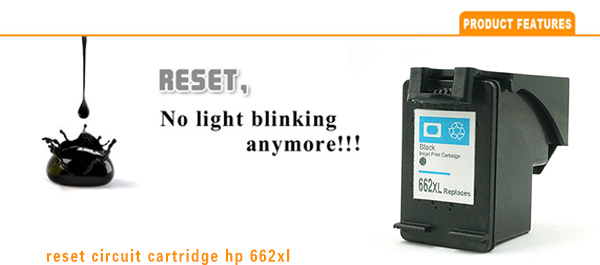 Looking for Agents to Distribute Our Products for HP662 Black Ink Cartridge Reset Full Ink