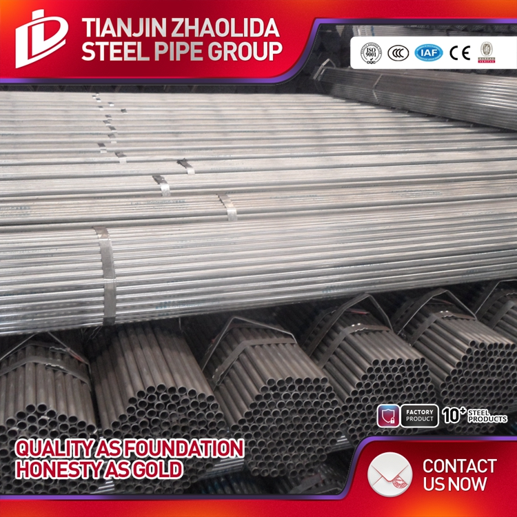 Structure Pipe Application and Round Section Shape Galvanized Steel pipe