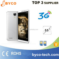 Very cheap big touch screen mobile phone/New arrival 5.5 inch smart mobile/MTK6572 abdroid cell phone