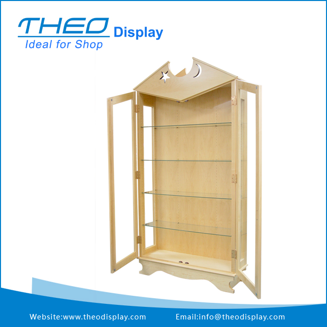 Free Standing Commercial Display Stand For Retail Chain Store