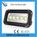 outdoor ip65 warranty of 3years for gymnasium lighting 250 watt high lumen led flood light